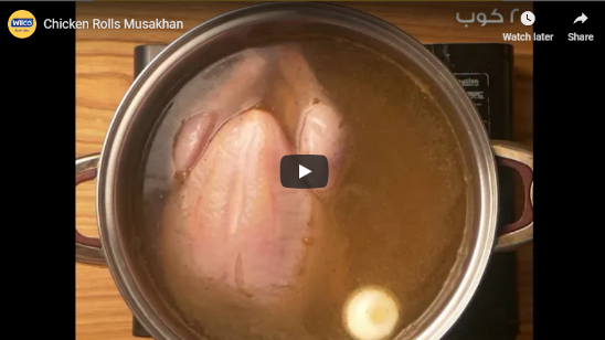 Chicken Rolls Musakhan